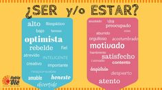 "How to use ""SER"" and ""ESTAR"" with adjectives. We often find ourselves facing the everlasting dilemma of the correct usage of these verbs: ""Ser"" or ""Estar"". Let's begin with the explanation."