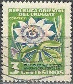 Sello postal del Uruguay