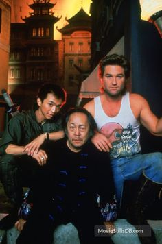 A gallery of Big Trouble In Little China publicity stills and other photos. Featuring Kurt Russell, Dennis Dun, Kim Cattrall, John Carpenter and others. 80s Movies, Action Movies, Great Movies, Film Movie, Disney Movies, Tv Actors, Actors & Actresses, James Hong, China Movie
