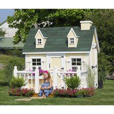 Amish Playhouses | Amish Made #Cape #Cod #Playhouse Kit