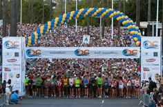 OC MARATHON - Newport Beach May  Join thousands of other community-minded runners and walkers at the OC Marathon, beginning at Newport Beach Marriott Hotel & Spa just south of Santa Barbara Drive. Pledges to benefit eleven local children's charities through Run for Orange County Kids (ROCK).