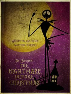 The Nightmare before Christmas...trent watched this so much as a baby 8b2d0c53f8