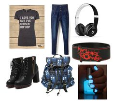 """""""rock and roll"""" by musicismine ❤ liked on Polyvore featuring art"""