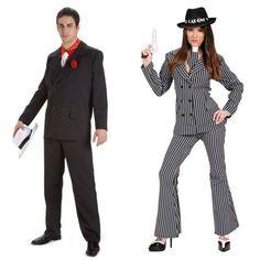 Costumes pour couples Gangsters Luxe #déguisementscouples