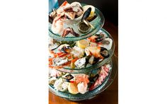 Seafood Tower at Gotham Steak, Fontainebleau.