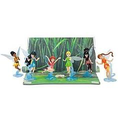 Disney Tinker Bell and the Great Fairy Rescue Figurine Play Set -- 6-Pc.