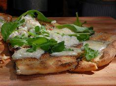 Roman Pizza Bianca Recipe : Bobby Flay : Food Network - FoodNetwork.com