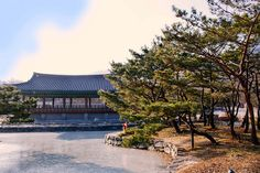 Namsangol Hanok Village in Seoul, Korea