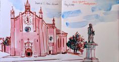 Urban Sketchers: Northern Italy in May, some sketches