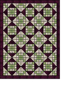 Free Quilt Tutorial - All Squared Up