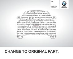 BMW: Change to original