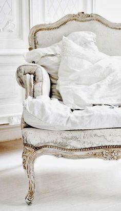 luxurious white chair