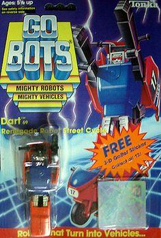 gobots dart   gobots dart transforming robot tonka sold $ 45 00