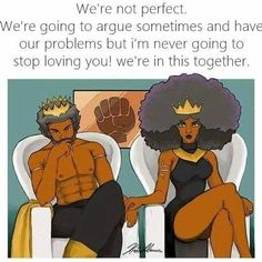 40 something and single: Black Love Art Black Love, Black Girl Art, My Black Is Beautiful, Art Girl, Black Girls, African American Art, African Art, Couple Noir, Arte Black
