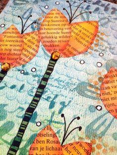 art journal layers Mixed Media Journal, Mixed Media Collage, Mixed Media Canvas, Collage Art, Art Journal Pages, Art Pages, Art Journals, Daily Journal, Scrapbooking Journal