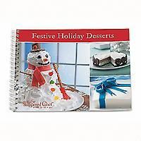 The Pampered Chef Festive Holiday Desserts Cookbook ~ New Free Shipping