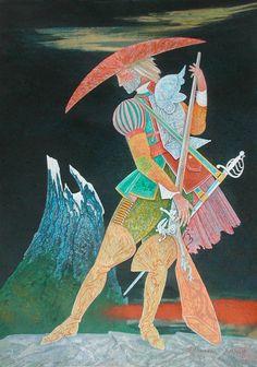 Sentry of the Mountain Magic Tale original by SergioArteStudio