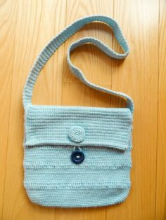 Cute Baby Blue Bag Golden Heart, Blue Things, Heart Crafts, Blue Bags, Baby Blue, Cute Babies, Handbags, Totes, Purse
