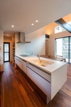 伊予市/N様邸 - アクティブ・アート Decor, Furniture, Bathroom Lighting, Home, Lighted Bathroom Mirror, Bathroom Mirror, Kitchen, Bathroom, Mirror