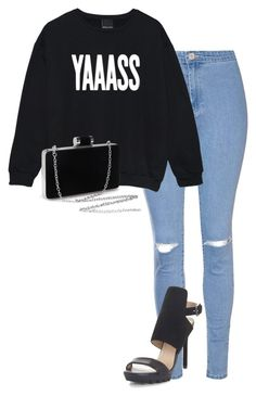 """""""Untitled #176"""" by jayla-gore ❤ liked on Polyvore featuring Glamorous and BCBGMAXAZRIA"""