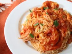 Super Easy! Shrimp and Angel Hair Fra Diavolo | Fresh Food Fast with Emeril Lagasse