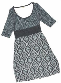 Athleta Dress Small Black AQUA Empire Waist Boat Neck Casual Tunic Womens #Athleta #EmpireWaist #Casual