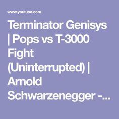 Terminator Genisys | Pops vs T-3000 Fight (Uninterrupted) | Arnold Schwarzenegger - YouTube