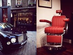 """Bentley is all set to help you get more popular, in your crowd, this time by giving you a new hair style! Their latest tie-up with luxury men's lifestyle brand Pankhurst, has given birth to a new Pankhurst men's grooming store in London, with Bentley designed six barbers' chairs, that boast to offer the same """"craftsmanship and engineering techniques"""" as found in Bentley cars. The chairs have been created using eight leather hides, with bespoke Bentley and Pankhurst embroidery"""