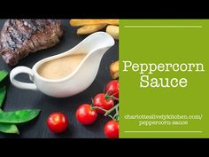 My quick and easy peppercorn sauce recipe. It's made without cream, instead using milk and other common store cupboard and fridge ingredients so you can whip it up whenever you want.