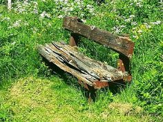 Old Bench Photograph  - Old Bench Fine Art Print
