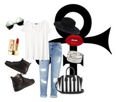 """""""#3"""" by olivia-lefranc ❤ liked on Polyvore featuring Miss Selfridge, H&M, Christian Louboutin, Forever 21, Yves Saint Laurent, Lime Crime, Charlotte Russe, Givenchy and Revo"""