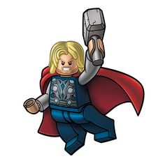 Avengers Lego packagin - THOR by *RobKing21 on deviantART