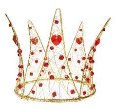queen of hearts crown | Rose Garden Accessories Headbands and Crowns Queen of Hearts Crown