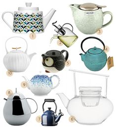 Time for Tea (and teacups and teapots) #teacups #teapots #tea
