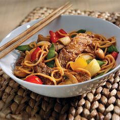 Mongolian Steak and Noodles - 12 Pasta Dishes Under 500 Calories - Shape Magazine - Page 4