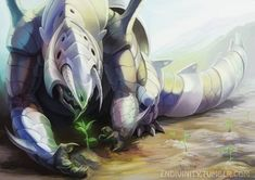 AS Dex: Aggron is protective of its environment. If its mountain is ravaged by a landslide or a fire, this Pokémon will haul topsoil to the area, plant trees, and beautifully restore its own territory.