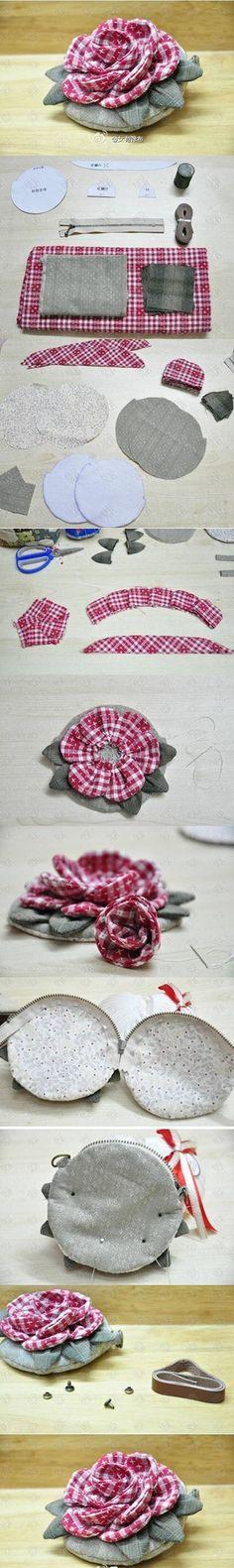 Diy Cloth Flower   DIY & Crafts