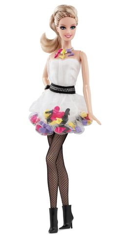 AmazonSmile: Barbie Collector Shoe Obsession Doll: Toys & Games