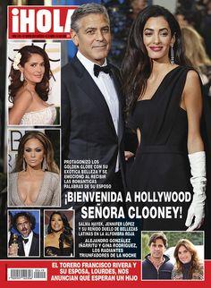 En ¡HOLA!: ¡Bienvenida a Hollywood, Señora Clooney!