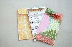 The Creative Place: DIY :: Mini Envelopes