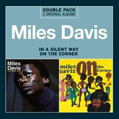 miles davis album art in a silent way/ on the corner images | Miles Davis - In A Silent Way/On The Corner - COL CD Album Grooves Inc ...