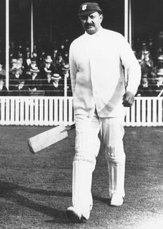 THE INVENTOR OF THE LEG GLANCE: Even Mark Waugh has never glanced the ball off his middle stump the way this gent regularly did. Quite frankly, it's been by people privileged enough to watch him in action that no one ever batted quite like Ranjitsinhji, who was born on this day (Sept. 10) in 1872.