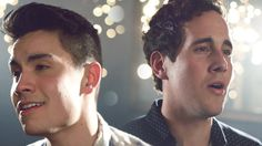"""""""Thinking Out Loud"""" y""""I'm Not The Only One"""" deEd Sheeran ySam Smith unidas creanun Mash-up simplemente impresionante. Sam Tsui y Casey Breves dos YouT"""