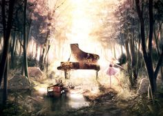 [pixiv] Let's play music! Piano collection - pixiv Spotlight