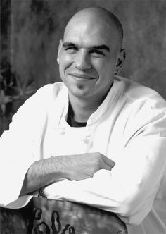 Love at first site; Michael Symon <3