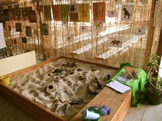 Dinosaurs in the sand pit at St. Liborius, image shared by Walker Learning Approach: Personalised Learning