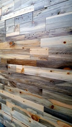 beetle kill pine for the bar accent wall