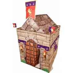 Take a look at this Knights Play Tent Set & Accessories by Traditional Garden Games on today! Irish Weather, Garden Games, Pop Up Tent, Color Box, Colour, Castle, Traditional, Holiday Decor, How To Make