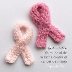 Día mundial de la lucha contra el cáncer de mama, 19 de octubre.