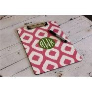 Who doesn't want a Clipboard with their initials?  In This Very Room has so many cute options.  Click link for more info!